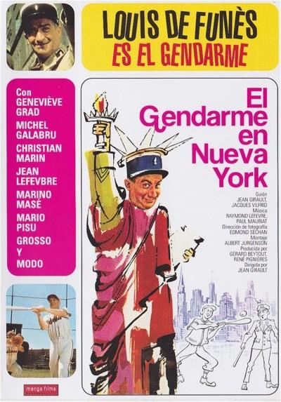 El gendarme en Nueva York (Le Gendarme a New York )