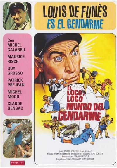 El Loco Loco Loco Mundo Del Gendarme (Le Gendarme Et Les Gendarmettes)