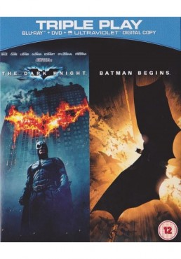 El Caballero Oscuro / Batman Begins (Blu-Ray + DVD + Copia Digital)