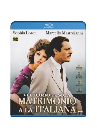 Matrimonio A La Italiana (Blu-Ray) (Matrimonio All'Italiana)