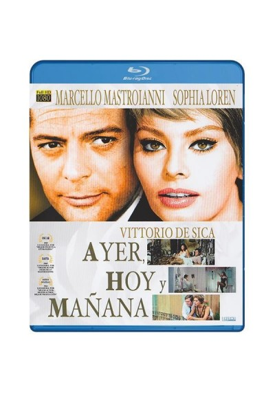 Ayer, Hoy Y Mañana (Blu-Ray) (Leri, Oggi E Domani)
