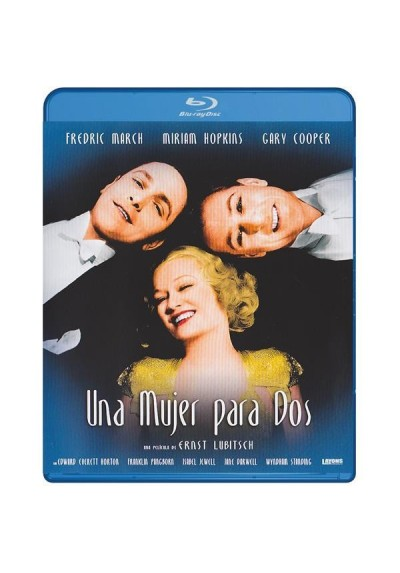 Una Mujer Para Dos (Blu-Ray) (Design For Living)