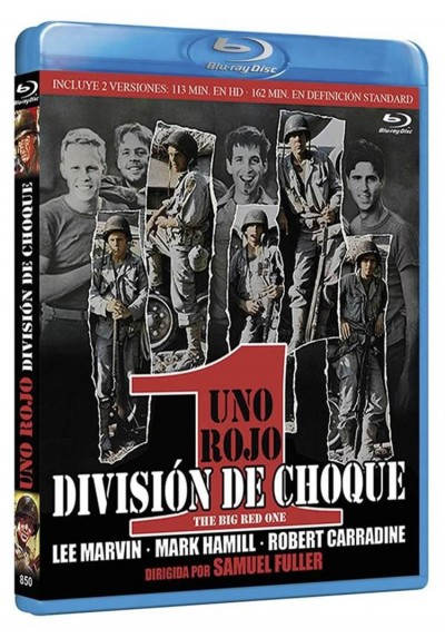 Uno Rojo, Division De Choque (Blu-Ray) (The Big Red One)