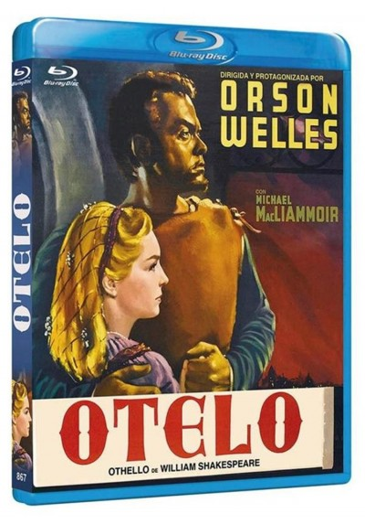 Otelo (V.O.S.) (Blu-Ray) (The Tragedy Of Othello: The Moor Of Venice)