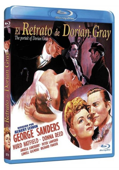 El Retrato De Dorian Gray (1945) (Blu-Ray) (The Picture Of Dorian Gray)