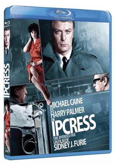 Ipcress (Blu-Ray) (The Ipcress File)