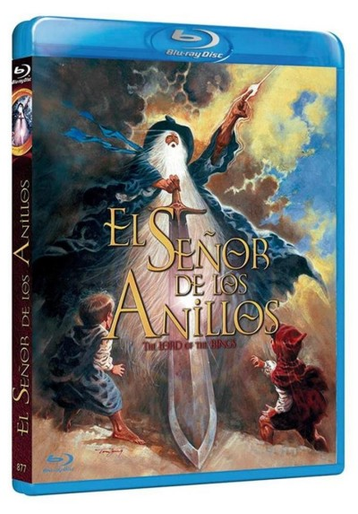 El Señor De Los Anillos (1978) (Blu-Ray) (The Lord Of The Rings)