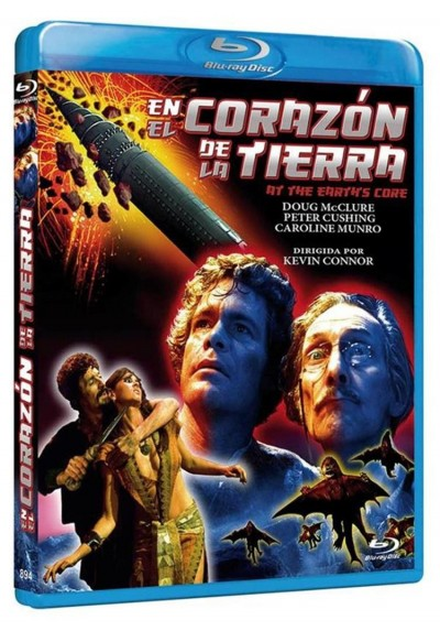 En El Corazon De La Tierra (Blu-Ray) (At The Earth'S Core)