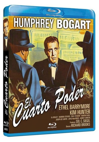 El Cuarto Poder (Blu-Ray) (Deadline Usa)