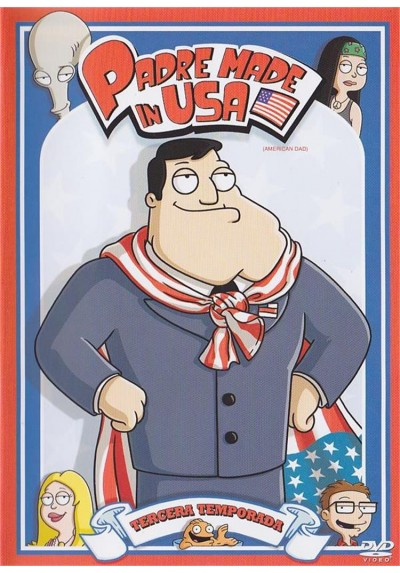 Padre Made In Usa - 3ª Temporada (American Dad)