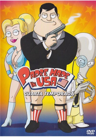 Padre Made In Usa - 4ª Temporada (American Dad)