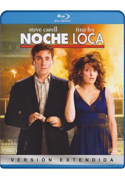 Noche Loca (Blu-Ray) (Date Night)