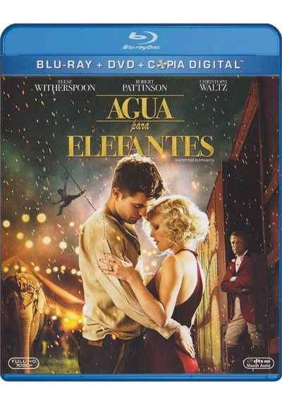 Agua Para Elefantes (Blu-Ray + Dvd + Copia Digital) (Water For Elephants)