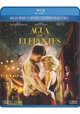 Agua Para Elefantes (Blu-Ray + Dvd + Copia Digital) (Water For Elephants)
