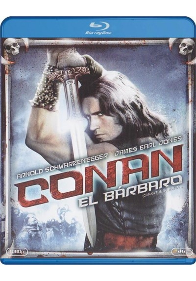 Conan El Barbaro (Blu-Ray) (Conan The Barbarian)