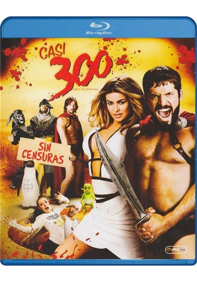 Casi 300 (Blu-Ray) (Meet The Spartans)