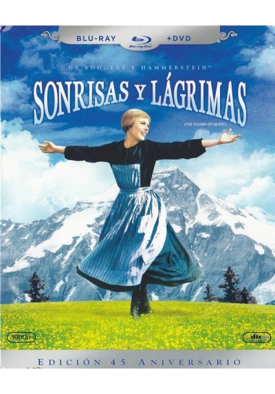 Sonrisas Y Lagrimas (Blu-Ray + Dvd) (The Sound Of Music)