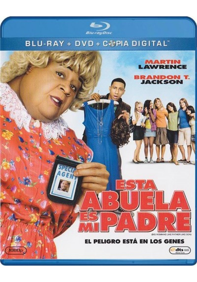 Esta Abuela Es Mi Padre (Blu-Ray + Dvd + Copia Digital) (Big Mommas: Like Father, Like Son)