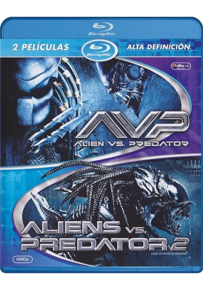 Alien Vs. Predator / Aliens Vs. Predator 2 (Blu-Ray)