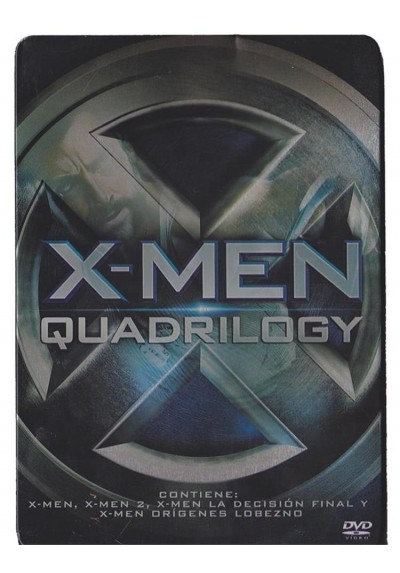 X-Men - Quadrilogy (Ed. Metalica)