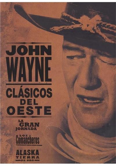 John Wayne - Clasicos de Oro: La Gran Jornada, Los Comancheros y Alaska - Tierra de Oro