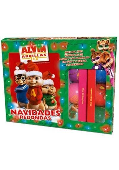 Pack Alvin Y Las Ardillas / Alvin Y Las Ardillas 2 + Bolas De Navidad