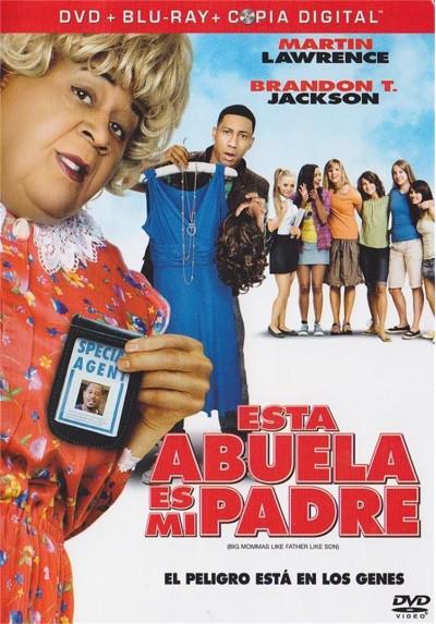 Esta Abuela Es Mi Padre (Blu-Ray + Dvd + Copia Digital) (Big Mommas: Like Father, Like Son)