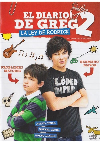 El Diario De Greg 2 : La Ley De Rodrick (Diary Of A Wimpy Kid 2: Rodrick Rules)