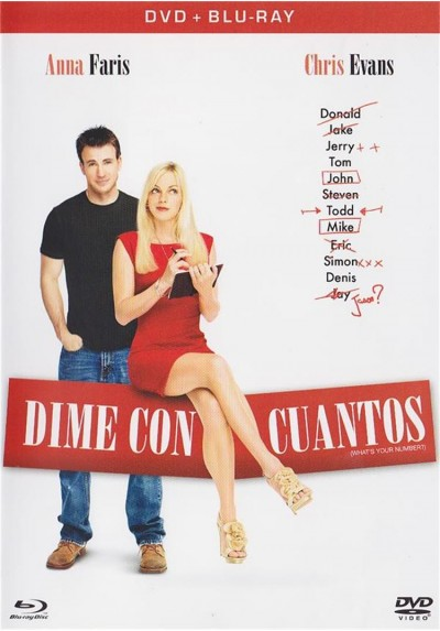 Dime Con Cuantos (Dvd + Blu-Ray) (What´s Your Number?)