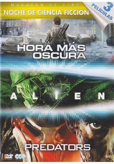 Pack Noche de Ciencia Ficcion - La Hora Mas Oscura / Alien / Predators