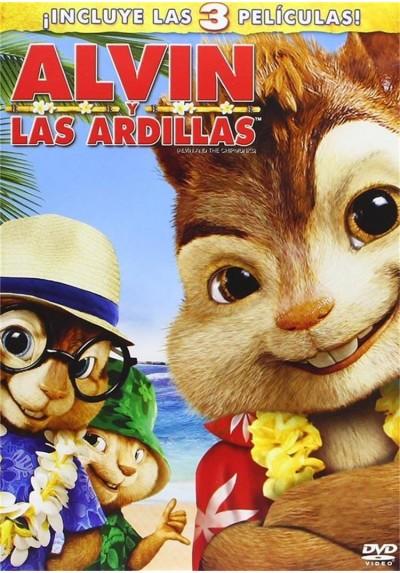 Trilogia Alvin Y Las Ardillas