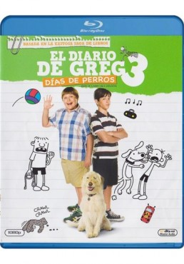 El Diario De Greg 3 : Dias De Perros (Blu-Ray) (Diary Of A Wimpy Kid: Dog Days)