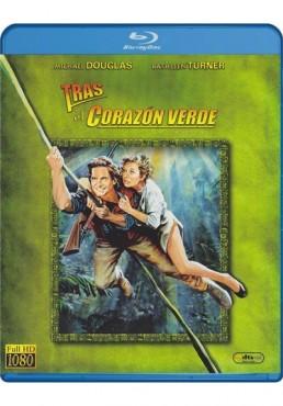 Tras El Corazon Verde (Blu-Ray)(Romancing The Stone)