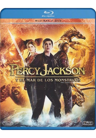Percy Jackson Y El Mar De Los Monstruos (Blu-Ray + Dvd) (Percy Jackson: Sea Of Monsters)