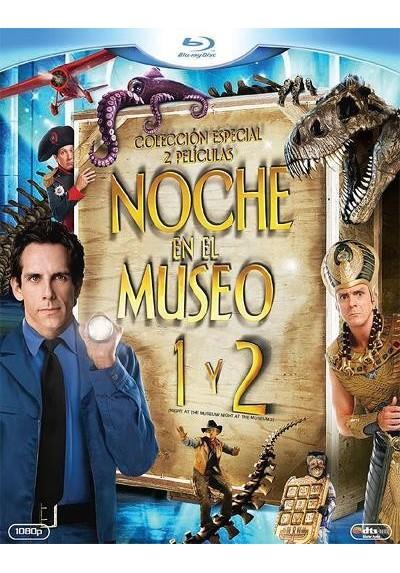 Pack Noche En El Museo / Noche En El Museo 2 (Blu-Ray)