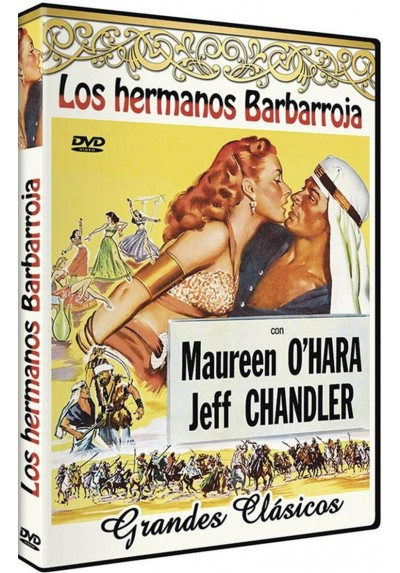 Los hermanos Barbarroja (Flame of Araby)