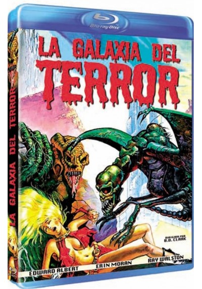 La Galaxia Del Terror (Blu-Ray) (DB-R) (Galaxy Of Terror)