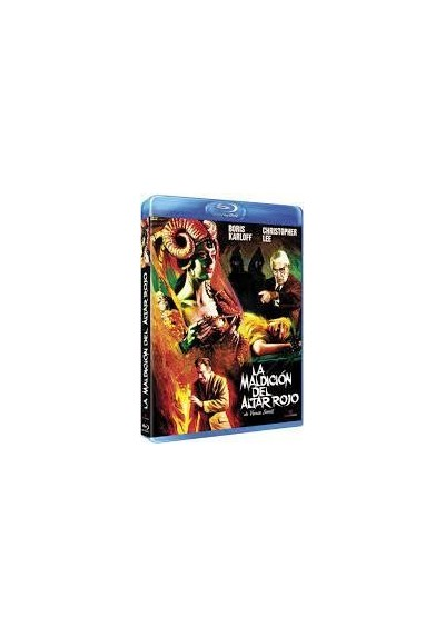 La Maldicion Del Altar Rojo (Blu-Ray) (Curse Of The Crimson Altar) (BD-R)