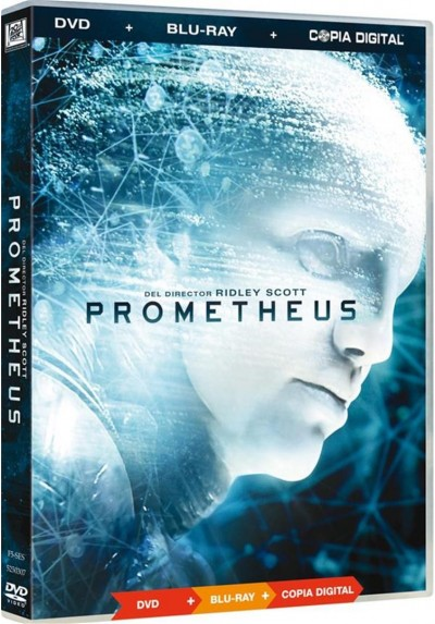 Prometheus (Dvd + Blu-Ray + Copia Digital)