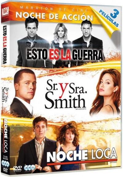 Cine de Accion (Esto Es La Guerra + Sr. Y Sra. Smith + Noche Loca)
