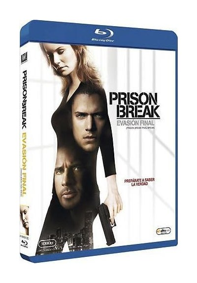 Prison Break - Evasion Final (Blue-Ray) (Prison Break - The Final Break)