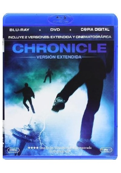 Chronicle (Blu-Ray + Dvd + Copia Digital)