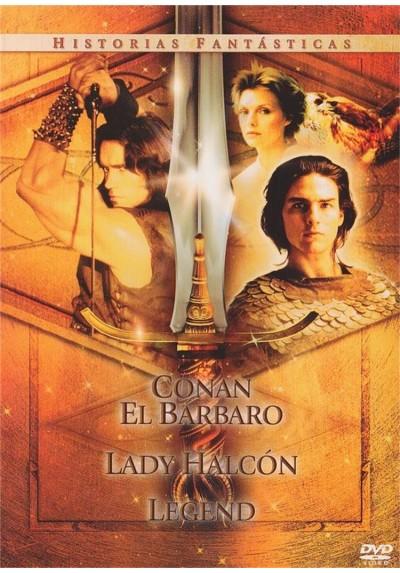 """Pack Historias Fantasticas """"Conan El Barbaro"""", """"Lady Halcon"""" y """"Legend"""""""