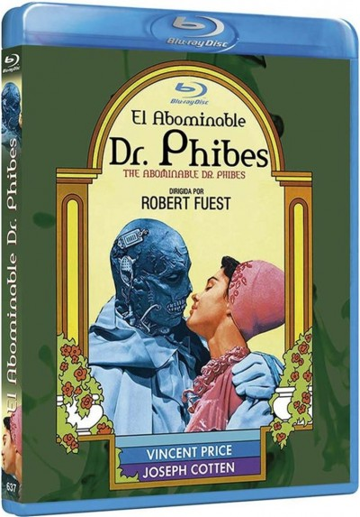 El Abominable Dr.Phibes (Blu-Ray) (The Abominable Dr. Phibes)