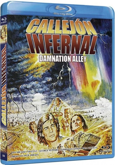Callejon Infernal (Blu-Ray) (Damnation Alley)
