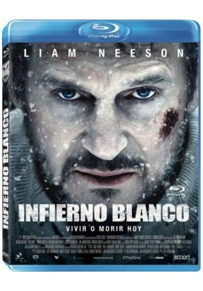 Infierno Blanco (Blu-Ray) (The Grey)