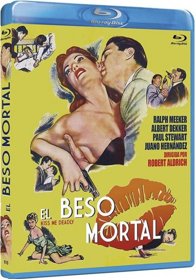 El Beso Mortal (Blu-Ray) (Kiss Me Deadly)