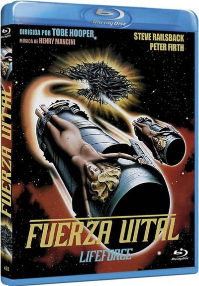 Fuerza Vital (Blu-Ray) (Lifeforce)