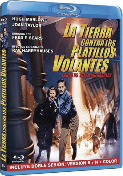 La Tierra Contra Los Platillos Volantes (Blu-Ray) (Earth Vs The Flying Saucers)