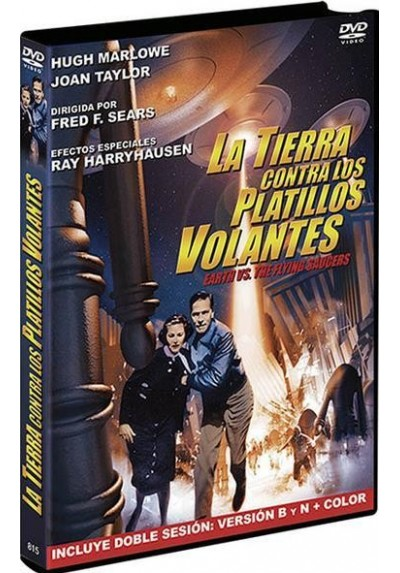 La Tierra Contra Los Platillos Volantes (Earth Vs The Flying Saucers)